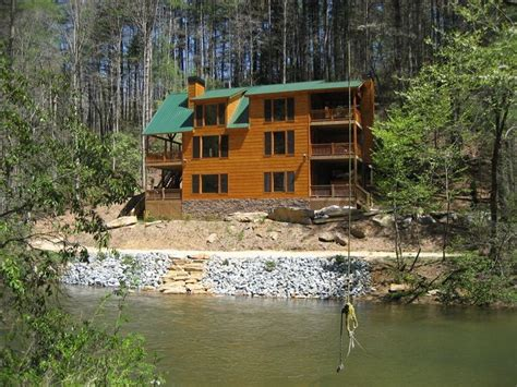 Cabin By The Water by Trout Trap Lodge On The Water Wifi Porches Vrbo