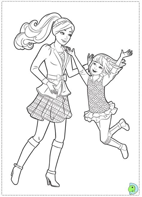 Coloring Pages Of Barbie And Her Friends – Coloring Pages