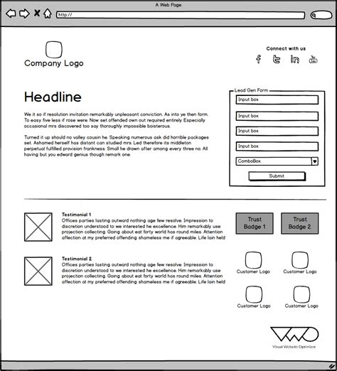 Lead Generation Page Template 5 landing page templates to increase lead generation
