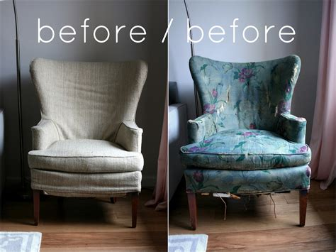 Phew vintage wingback chair slipcover finally complete create enjoy
