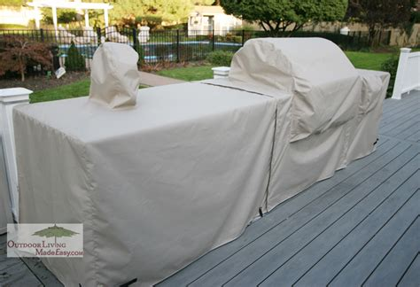 custom outdoor kitchen covers custom surlast cover for outdoor kitchen