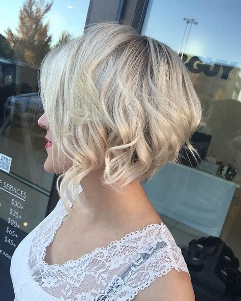 texturized and choppy bob haircut that can be air dryed to be wavy trubridal wedding blog wedding hair archives trubridal