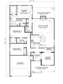 Shallow Lot House Plans by Kingsbury Narrow Lot Home Plan 055d 0280 House Plans And