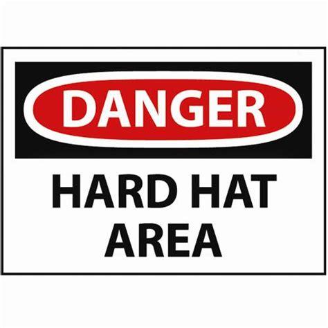 printable hard hat area sign danger hard hat area sign osha safety signs safety