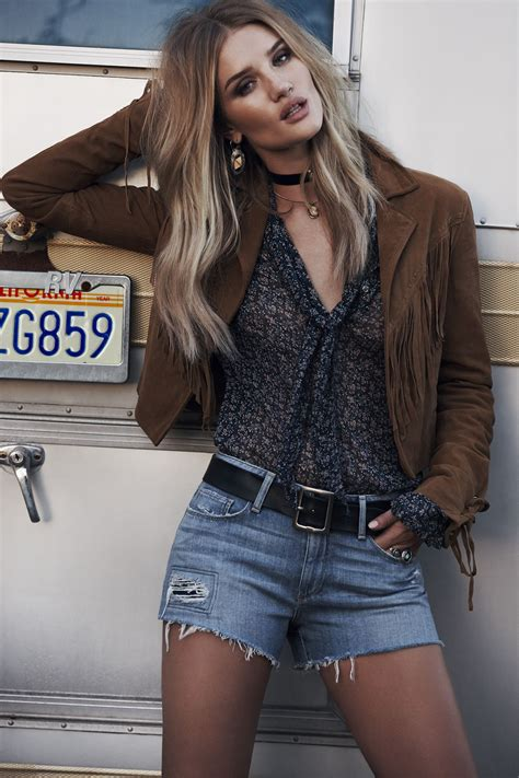 rosie huntington whiteley paige denim spring summer