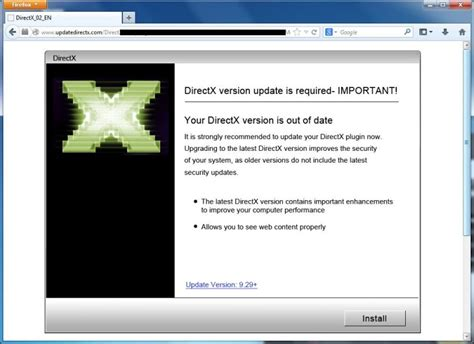 windows 10 directx tutorial remove quot your directx version is out of date quot virus tutorial