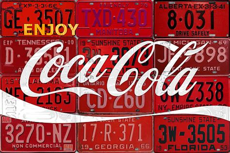 coca cola take one home soda pop vintage style metal tin coca cola enjoy soft drink soda pop beverage vintage logo