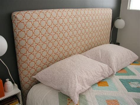 how to make a headboard pin by sharon ertl on make your own headboard pinterest