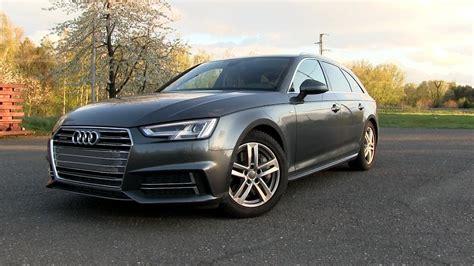Audi A4 Avant Test by 2017 Audi A4 Avant 3 0 Tdi Quattro B9 272 Hp Test Drive