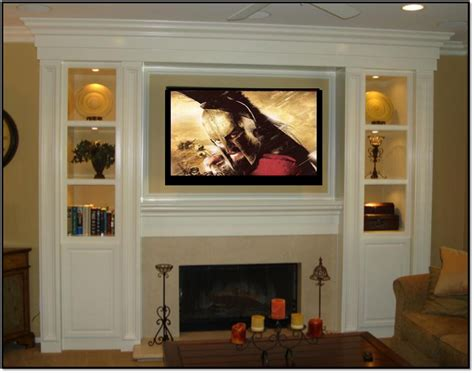 Fireplace And Center by Entertainment Center Appleton Renovations