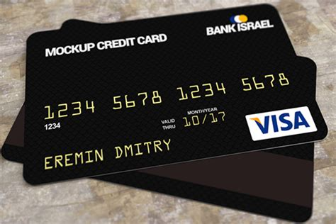 Free Psd Credit Card Template by 39 Realistic Credit Card Mockups Psd Free Design Templates