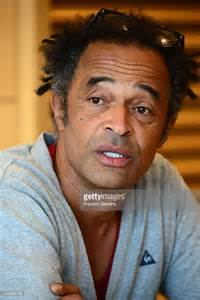 yannick noah gives a press conference at roland garros in
