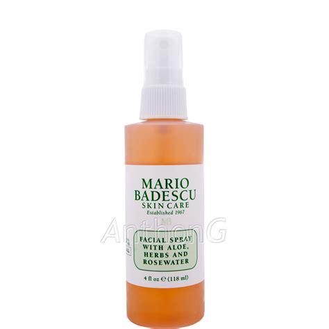 Toner Mario Badescu anthong mario badescu spray with aloe herbs and