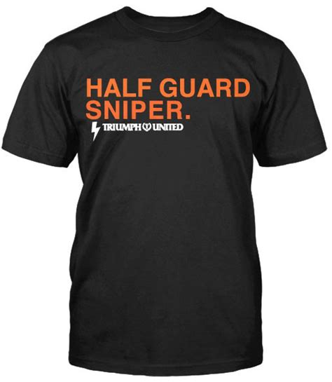 Hoodie Triump United Jiu Jitsu triumph united bjj half guard sniper shirt
