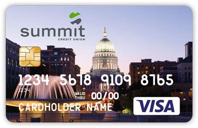 summit debit cards summit credit union