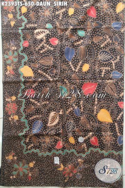 Kain Batik Sogan Jawa Premium 002 pusat produk batik premium khas jawa tengah jual kain batik tulis soga harga mahal