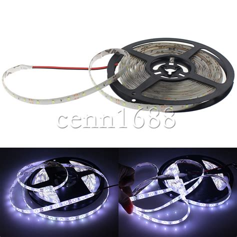 led accent light strips boat accent light waterproof led lighting rv smd 3528 300 leds 16 ft white ebay