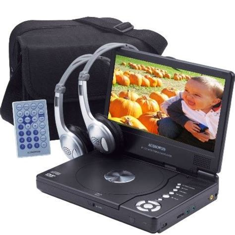 format audio vox audiovox d1809pk portable dvd player with car headrest