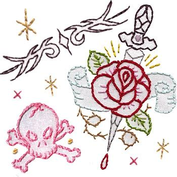 tattoo flash embroidery 17 best images about cross stitch and embroidery on