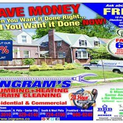 Ingram Plumbing Philadelphia by Ingram S Plumbing Klempner 6240 N Broad St