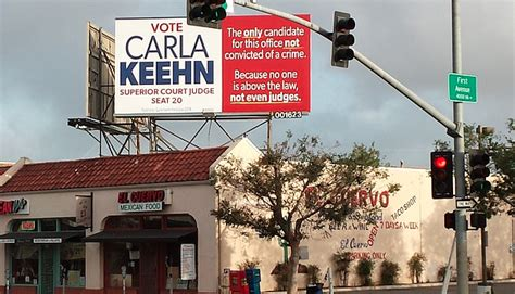 Admonished Criminal Record San Diego Judicial Candidate Says Rights Violated When Billboards Removed Kpbs
