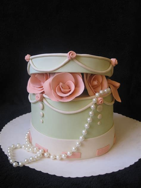Fiori Chocolate Sugar Box box cake cakecentral