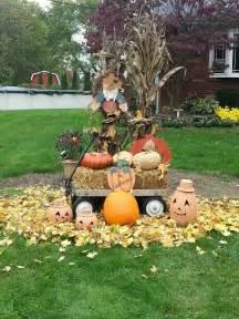 fall yard decorations fall yard decorations