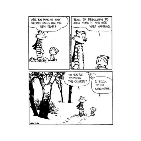 calvin and hobbes new years resolution calvin and hobbes on calvin and hobbes quotes