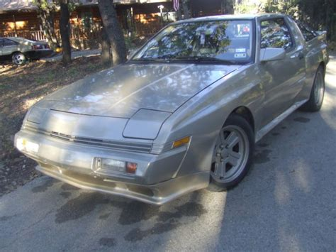 old car repair manuals 1985 mitsubishi starion seat position control 1989 mitsubishi starion 5 speed 100 original for sale in keller tx united states