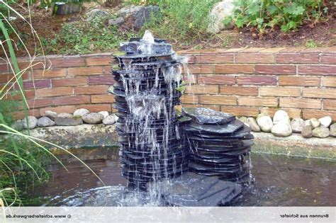 gartenbrunnen selber bauen stein brunnen selber bauen