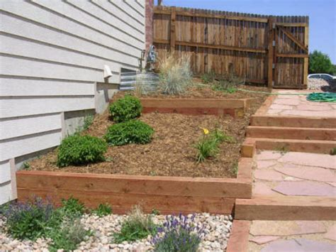 Landscape Timber Wall Design Retaining Walls By Rittz Services Serving Denver Metro