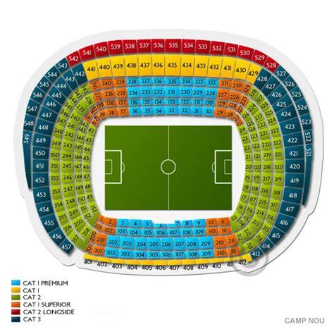 c nou seating chart seats
