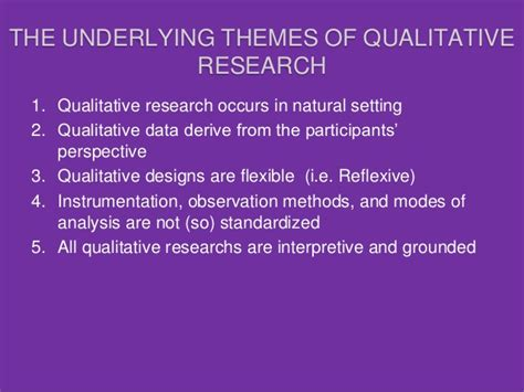 qualitative themes in research data collection methods in qualitative research