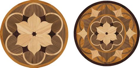 Medallion Wood Floors by Wood Floor Medallions Roselawnlutheran