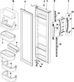refrigerator parts samsung refrigerator parts model