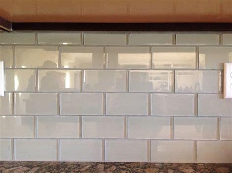 cream glass subway tile kitchen backsplash subway tile 84 best images about cream ivory glass tile on pinterest