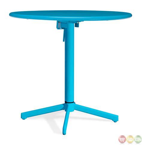big wave aqua folding table zuo modern 703048 modern