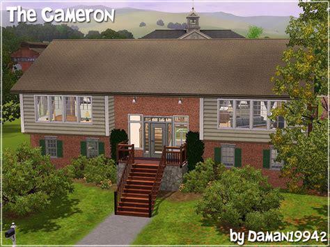 sims 3 foyer ideas daman19942 s the cameron split level family home