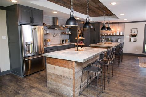 double kitchen island fixer upper design tips a waco bachelor pad reno hgtv s