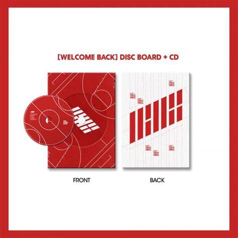 Ikon Album Welcome Back ikon debut half album welcome back gasoo kpop galore
