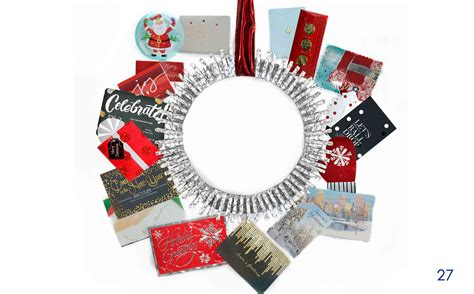 Gift Card Wreath - the best gift card tree and gift card wreaths ever gcg