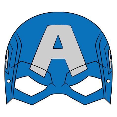 captain america mask template  printable papercraft