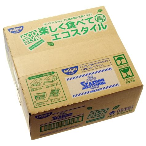 Cup Noodles Goes Refillable by 1 Box Pack Of 8 Nissin Foods Cup Noodles Seafood Refill