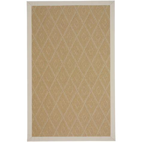capel indoor outdoor rugs capel llano tumbleweed ecru 9 ft x 12 ft indoor outdoor area rug 2064rs09001200715 the