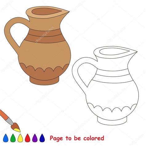 imagenes para colorear jarra dibujos animados de la jarra p 225 gina para colorear