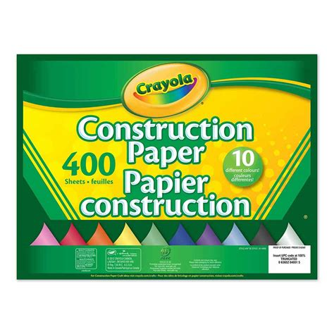 How To Make Paper Pads - construction paper pad 400 sheets crayola store
