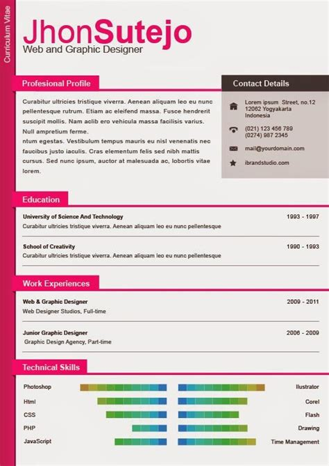 curriculum vitae plantilla editable 81 best images about resume templates plantillas on illustrators free creative
