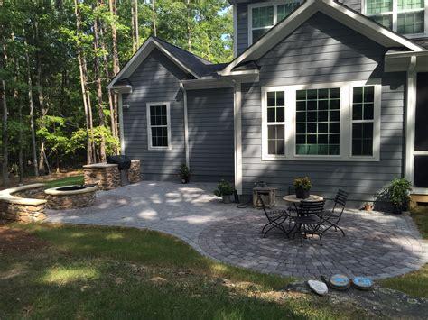 concrete patio nc raleigh durham patio builder