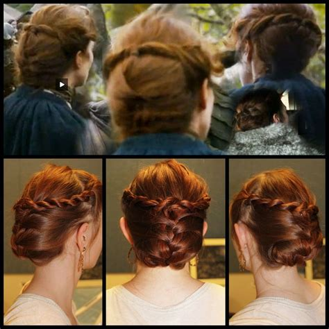 viking anglo saxon hairstyles 31 best anglo saxon clothing images on pinterest