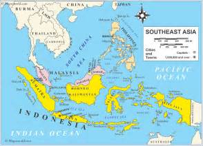 southeast asia geography map world geography indonesia the geography of indonesia